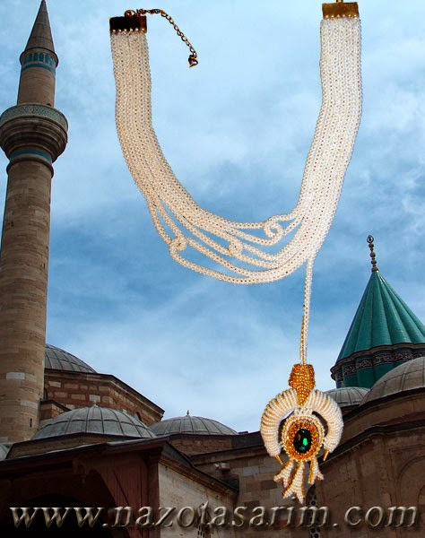 A necklaces in Konya