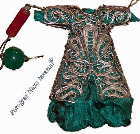 Caftan necklace