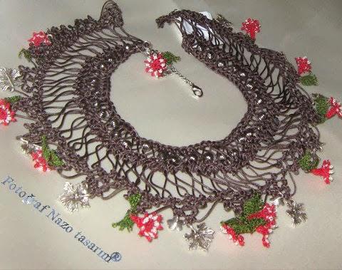 Ropes beads needle lace