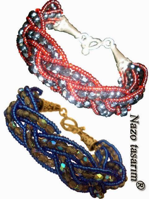 Scarf bracelet