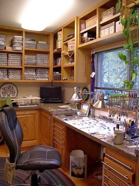 Jewelry design room