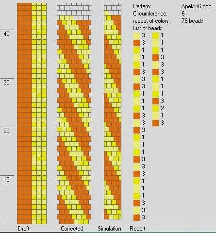 Crochet bead ropes schemes - Hapishane işi boncuk diziliş şemaları (4/6)