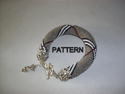 PATTERN Beaded bracelet