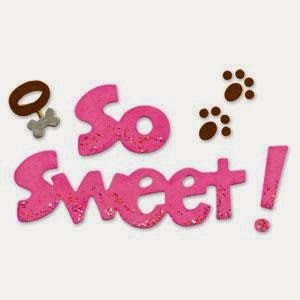 Sizzix Sizzlits Die Phrase So Sweet