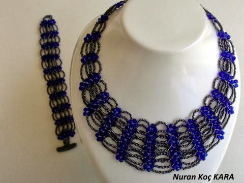 Cristal and Seed Beads