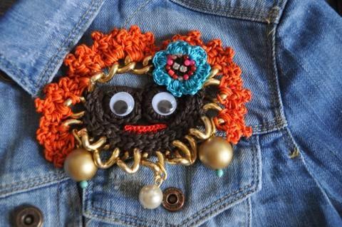 Crochet chain via