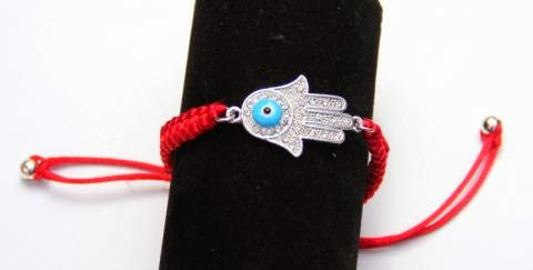 Adjustable Red Bracelet