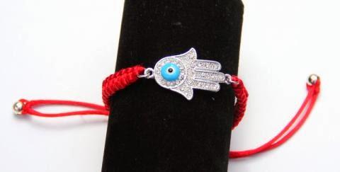 Adjustable Red Bracelet