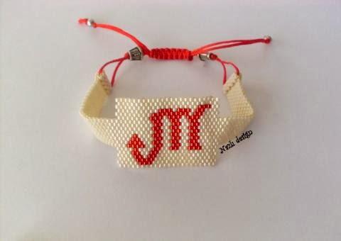 Scorpian Beaded Bracelet