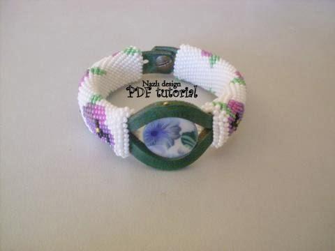Purple Violet Bracelet